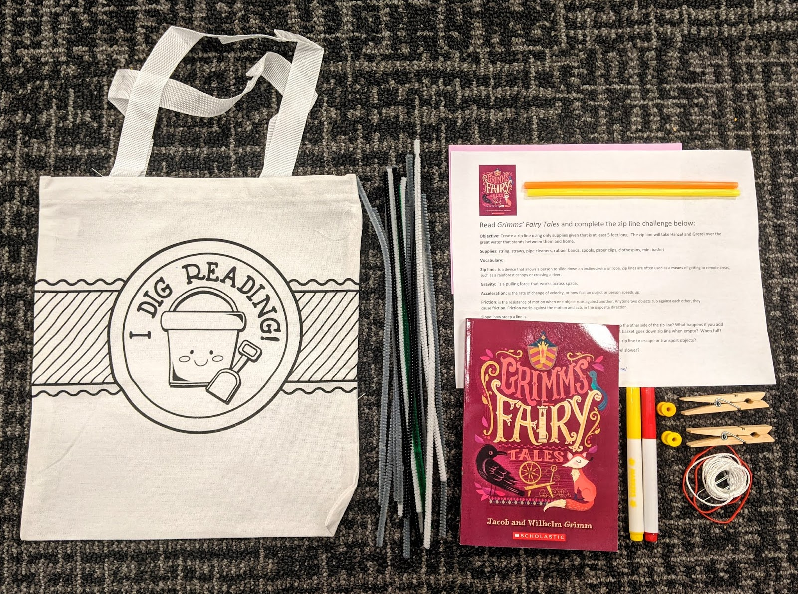 Free Stem Activity Bags New Books Whitman County Library
